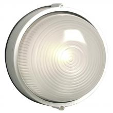 Galaxy Lighting 305112 WH - Cast Aluminum Marine Light - White w/ Frosted Glass