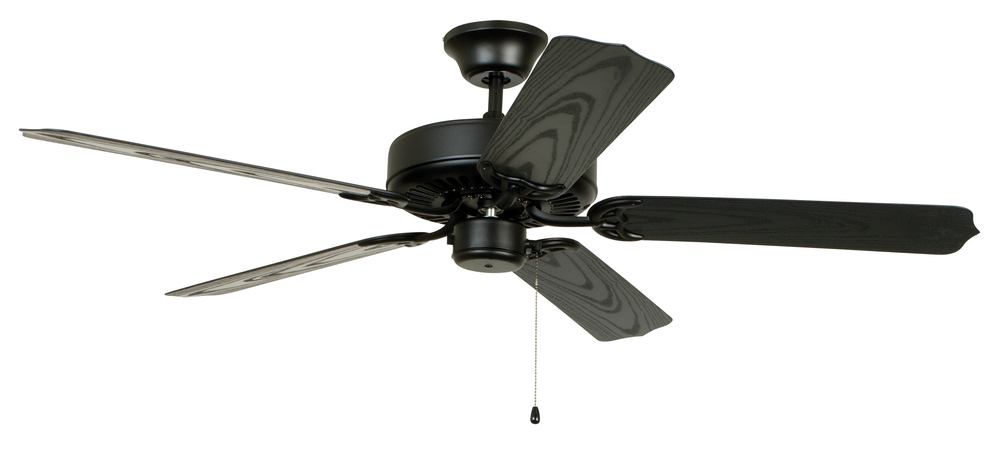 "Village Lighting in Bellingham, Washington, United States,  4XZT2, All-Weather 52"" Ceiling Fan with Blades in Matte Black, All-Weather"