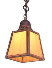 Arroyo Craftsman AH-1EAM-P - a-line shade pendant without overlay (empty)
