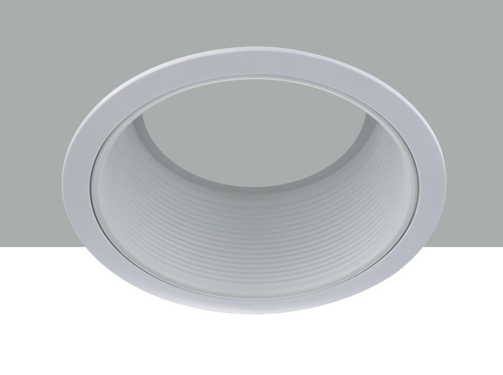 "6"" Line Voltage R40 White Baffle Trim"
