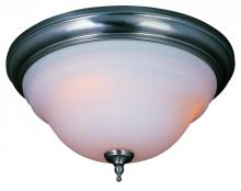 World Imports WI838602 - Montpellier Collection 2-Light Satin Nickel Ceiling Flushmount