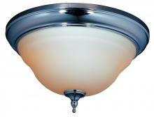 World Imports WI838608 - Montpelier Bath Collection 2-Light Chrome Ceiling Flushmount