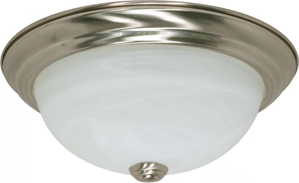"Village Lighting in Bellingham, Washington, United States,  5J05, 2 Light - 11"" Flush Fixture,"