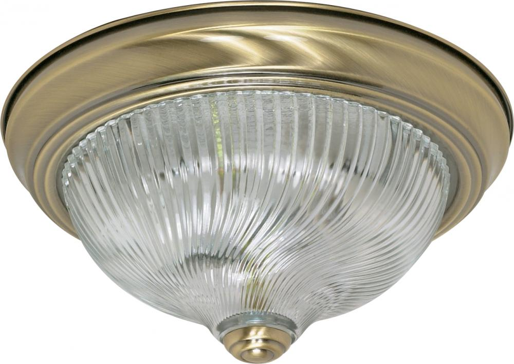 "Village Lighting in Bellingham, Washington, United States,  5JX9, 2 Light - 11"" Flush Fixture,"