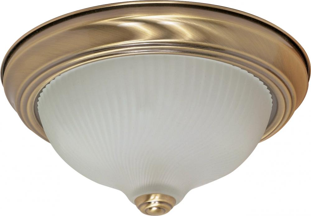 "2 Light - 11"" Flush Fixture"