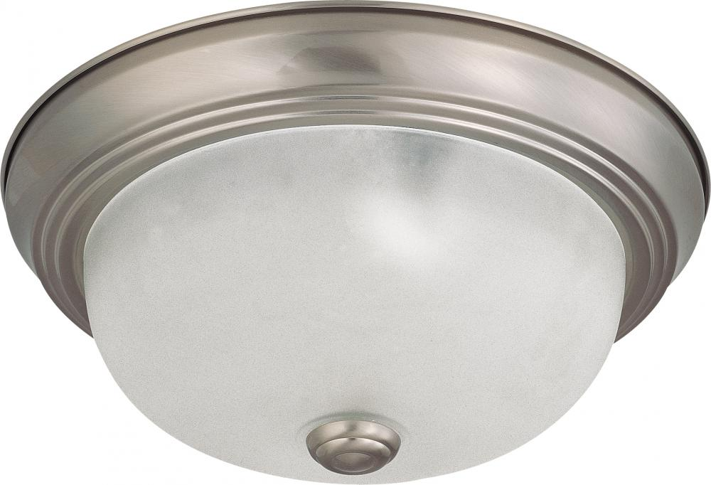 "Village Lighting in Bellingham, Washington, United States,  8RH9, 2 Light 11"" Flush Mount,"