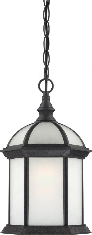 "Boxwood ES - 1 Light - 19""Outdoor Hang W/ Frosted Glass - (1) 18W GU24 Base Lamp Included"