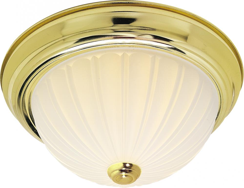 "Village Lighting in Bellingham, Washington, United States,  8UF7, 2 Light 11"" Flush Mount,"