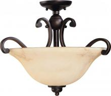 Nuvo 60-1408 - Anastasia 3 Light Semi Flush