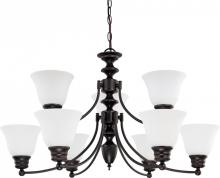 "Nuvo 60-3171 - Empire 9 Light 32"" Chandelier"