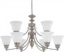Nuvo 60/3256 - Empire 9 Light Chandelier