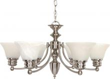 Nuvo 60/356 - Empire 6 Light Chandelier