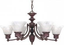 Nuvo 60/358 - Empire 6 Light Chandelier