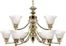Nuvo 60/361 - Empire 9 Light Chandelier