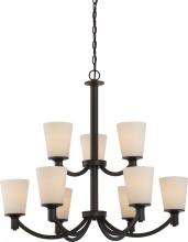 Nuvo 60/5929 - Laguna 9 Light 2 Tier Hanging