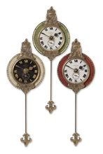 Uttermost 06046 - Uttermost Monarch Wall Clock Set/3