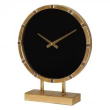 Uttermost 06433 - Uttermost Aldo Gold Table Clock