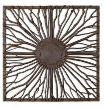 Uttermost 13777 - Uttermost Josiah Square Wooden Wall Art