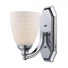 ELK Lighting 570-1C-WS - Bath And Spa 1 Light Vanity In Polished Chrome A